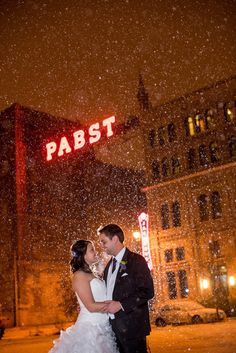 Pabst Brewery Wedding Photo