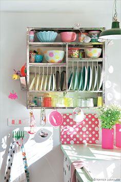 1000 images about faites place on pinterest deco - Comment ranger la vaisselle dans la cuisine ...