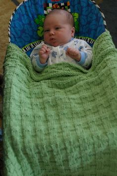 Harris baby blanket Knitting pattern by Katherine Vaughan | Knitting Patterns | LoveKnitting