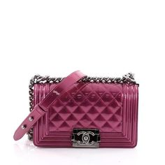 37e1ed10c93c Pre-owned Chanel Pink Leather Handbag ( 3