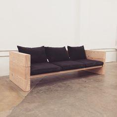 Sofabett holz  Lounge 3er Sofa » WITTEKIND Gartenmöbel » Holz Gartenmöbel ...