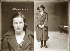 World Of Mysteries: Vintage Mug Shots of 1920s Criminals (40 pics)