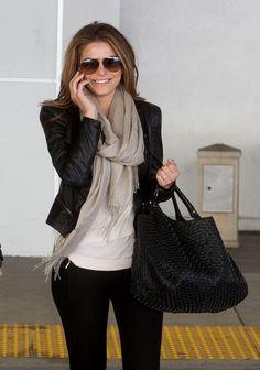 Maria Menounos Photos: Maria Menounos Arrives in LA With Her Boyfriend