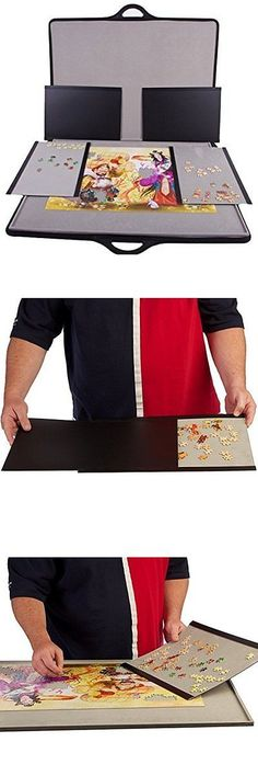 Storage Mats and Glue 180021: Jigsort 1500 - Jigsaw Puzzle Case For Up To 1,500 Pieces From Jigthings -> BUY IT NOW ONLY: $173.85 on eBay!