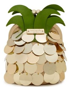 Feelin' Fruity This Kate Spade pineapple coin purse is simply uplifting. Check out more tropical items available online now to complete the ultimate citrus ensemble. Photo: Courtesy of Kate Spade Use E Abuse, Coin Purse Wallet, Coin Purses, Clutch Bag, Unique Bags, Unique Purses, Kate Spade Purse, Purses And Handbags, Hermes Handbags