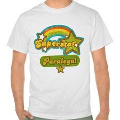 Superstar Paralegal T Shirt, Hoodie Sweatshirt