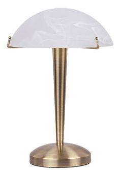 LUCY Rabalux - stolové dotykové svietidlo - bronz - 340mm