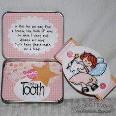 Whimsie Doodles: Sneak Peek Day 2 Tooth Fairy Tin