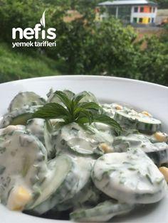 Cooking Recipes, Healthy Recipes, Delicious Recipes, Salad Dressing Recipes, Salad Bar, Fresh Rolls, I Foods, Green Beans, Cucumber