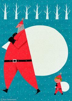 Merry Christmas by Ryo Takemasa, via Flickr