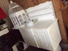Lovley different all French white x IMBUIA sideboard too cool! HEY JUDES OPEN - OPEN all public holidays, long weekends @both Hey JUDES shops same hours