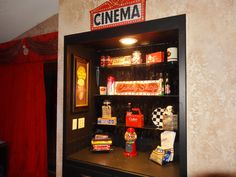 Movie Room Ideas theater room snack bar   home ideas. sam you need to do this in