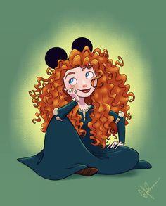 Drawing disney pixar merida ideas for 2019 Disney Fanatic, Disney Nerd, Arte Disney, Disney Fan Art, Disney Fun, Disney Girls, Merida Disney, Disney Princess Characters, Disney Princess Drawings