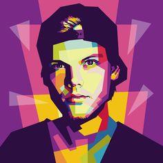 Avicii in Wedha's Pop Art Portrait by Andi Permana. Pop Art Pictures, Avicii Songs, Tim Bergling, Pop Art Portraits, Edm Music, City Wallpaper, Learn Art, Grace Kelly, Favorite Person
