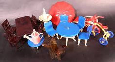 plastic dollhouse furniture vintage - Google Search