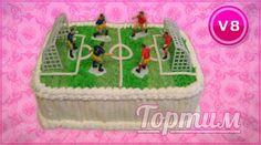 Любителям футбола. Заказать такой торт можно на сайте Tortim.ru