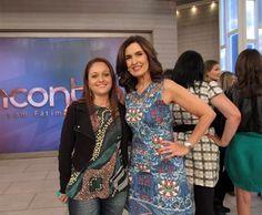 Blogueira que faz capa para sapato no programa Encontro da Fátima Bernandes