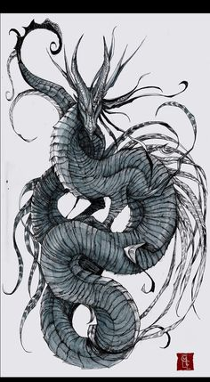 Dragon art. For those born year of the dragon. Maybe we always be fierce and creative.   followpics.co
