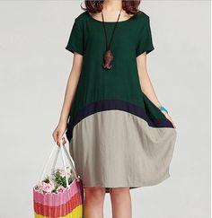 ★ ★★Material : cotton linen    ★★★ Measurement:  M  Length: 120 cm / 47.24 Inch  Bust: 134 cm / 52.76 Inch  Shoulder: 50 cm / 19.69 Inch  Waist: