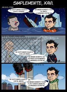 Simplemente, Xavi.