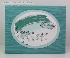 Wetlands - Stamp With Amy K