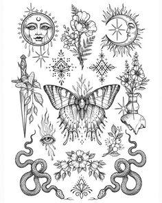 CeraVe Moisturizing Cream for Normal to Dry Skin Flash Art Tattoos, Dope Tattoos, Bild Tattoos, Dream Tattoos, Pretty Tattoos, Future Tattoos, Body Art Tattoos, Small Tattoos, Sleeve Tattoos