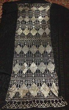 antique vintage 1970s Assuit shawl light golden metal   eBay