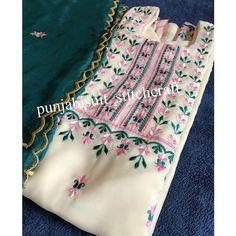 Free sewing pattern - Face mask against the coronavirus epidemic – Tiana's Closet Embroidery Suits Punjabi, Zardozi Embroidery, Hand Embroidery Dress, Kurti Embroidery Design, Embroidery Neck Designs, Embroidery Fashion, Machine Embroidery, Punjabi Suits Designer Boutique, Boutique Suits