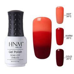 Temperature 3 Color Changing Gel Nail Polish 8ml