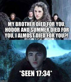 Meera, Game of Thrones.