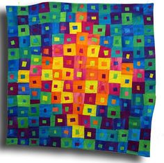 Brooke's Quilt #1 by Melody Johnson Quilts, via Flickr