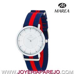 dc4fbbc9b905 Reloj Marea Hombre B21164 1 Azul y Rojo