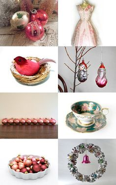 """""""For the Holidays...Think Pink!"""" by Nan and Dermot on Etsy"""