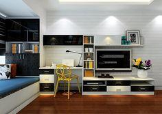 Tv Cabinet And Computer Desk Combination For Bedroom Download D
