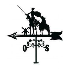 Veleta Quijote con cazoletas giratorias.