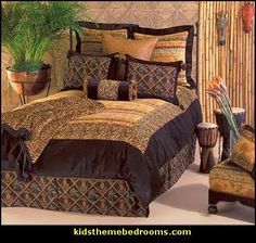 African Safari Decorating Ideas | African safari theme bedroom decorating ideas and decor click here