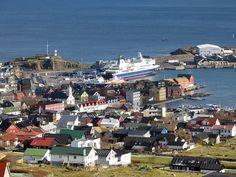 Tórshavn, Faroe Islands.