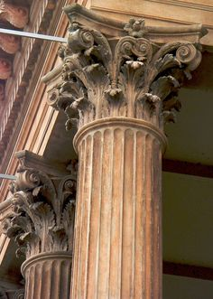 ideally i would prefer to have a corinthian column opposed to the usual roman column.