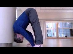 ▶ How to Use the Wall to press to a Handstand - YouTube