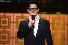 "NEW YORK, NY - MAY 06: Actor Johnny Depp speaks onstage at Spike TV's ""Don Rickles: One Night Only"" on May 6, 2014 in New York City. (Photo ..."