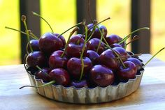 25 Fresh Cherry Recipes - what a great list and perfect for this time of year! From Noble Pig (pinning for the linked cherry muffins recipe) Cherry Recipes, Fruit Recipes, Snack Recipes, Dessert Recipes, Snacks, Just Desserts, Delicious Desserts, Cherry Desserts, Yummy Food