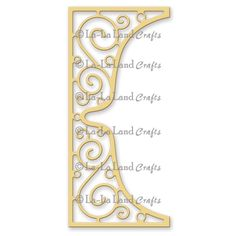 La-La Land Crafts - Die - Scroll Bracket,$24.95