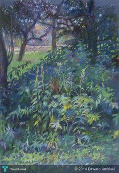 Południe w Inwałdzie   46 x 69 cm   sucha pastela