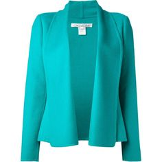 OSCAR DE LA RENTA peplum jacket found on Polyvore