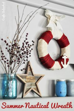 5-Minute-Nautical-DIY-burlap-wreath-summer-Crafts-Unleashed-1