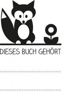 Buchstempel Fuchs
