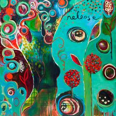 Release and Grow Flora Bowley