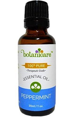 Therapeutic Grade Peppermint Essential Oil Pure By Botanicare -- Discover this special product, click the image : pure essential oils Essential Oil Scents, Therapeutic Grade Essential Oils, Aromatherapy Oils, 100 Pure, Peppermint, Feel Good, Robot, Pure Products, Feelings