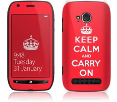 Keep Calm by GelaSkins for the Nokia Lumia 710