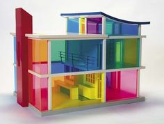 #Kaleidoscope House by Laurie Simmons and Peter Wheelwright.